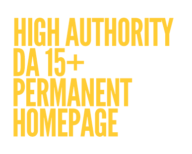 HOTH Blitz features High Domain Authority, DA15+ Permanent Homepage Links