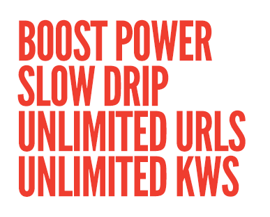 Slow Drip Backlinks, Unlimited URLs, Unlimited Keywords