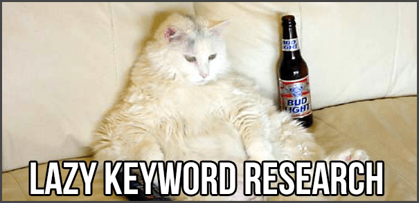 lazy-keyword-research