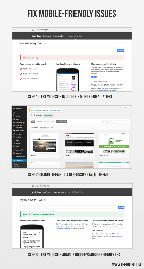 how to make your site responsive