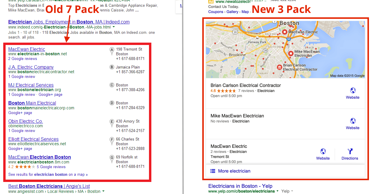 new local search results