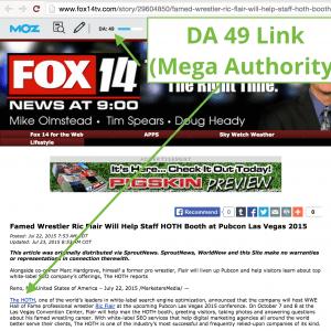 FOX Press Release Example