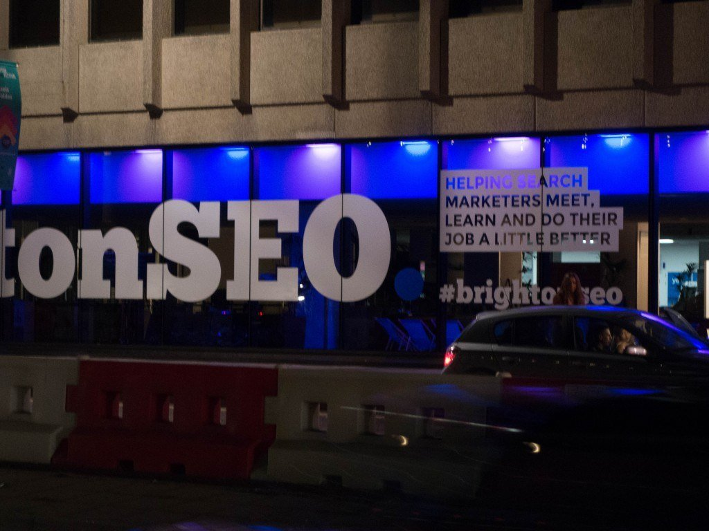 Outside BrightonSEO 2016 Conference