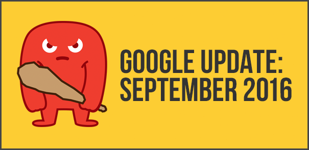 Google Update September 2016