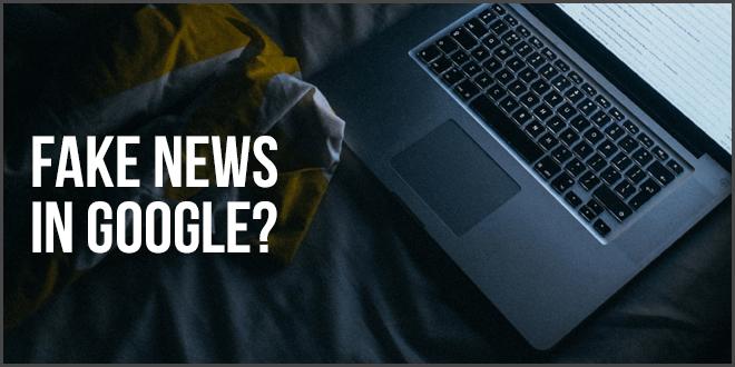 Fake News In Google