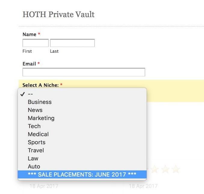 hoth private vault june