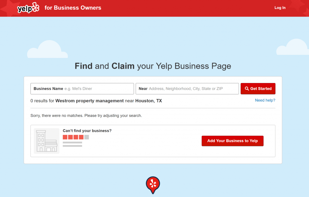 Yelp Add Your Business