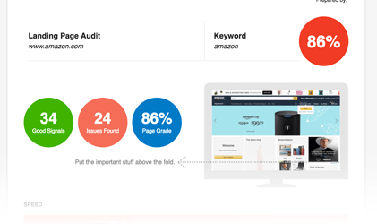 Image showing how the hoth's seo audit tool audits a site