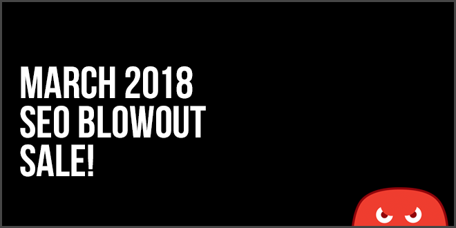 seo blowout sale