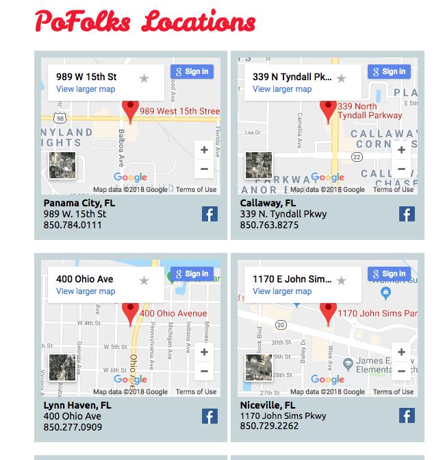 multi-local seo locations page