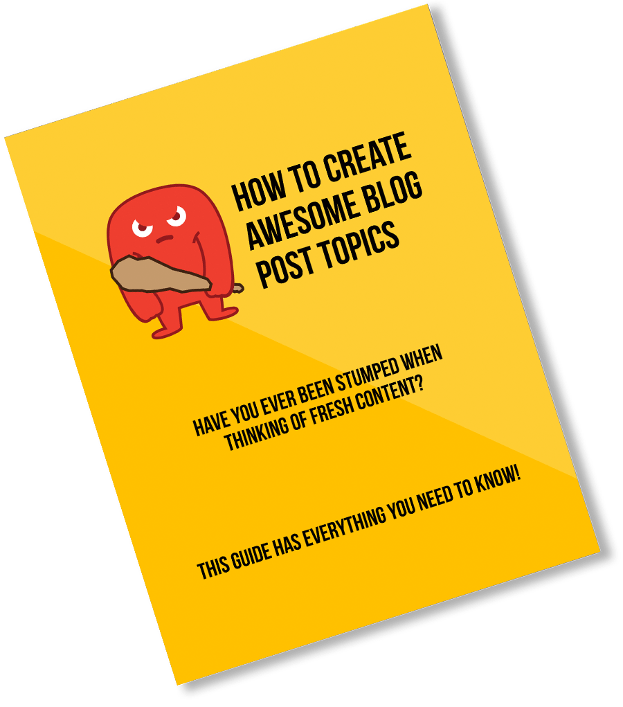 Blog Post Topics Guide
