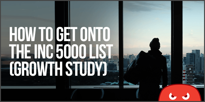 how to get on the inc 5000 list