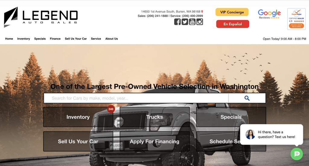 homepage ppc