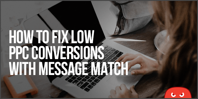 how to fix low ppc conversion