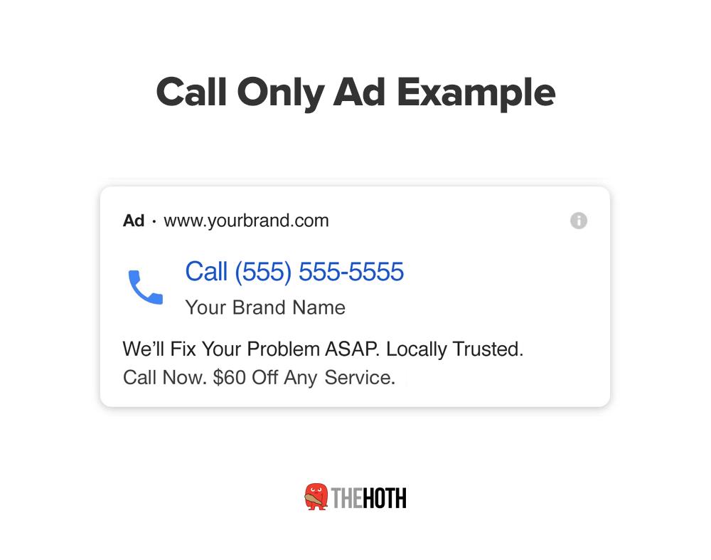 exemple d'appel uniquement