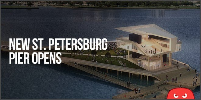 Our New Backyard Is Finished: St. Petersburg Pier Opens