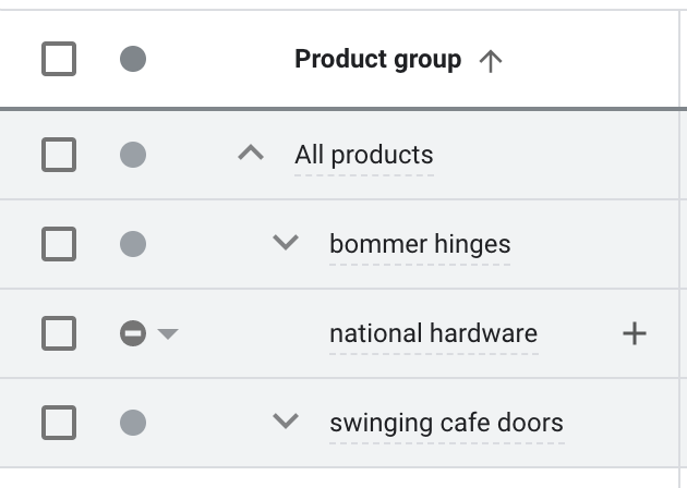 Examples of our client's high performing products like bommer hinges or swinging cafe doors.